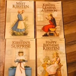 Meet Kirsten books 1-4 american girl dolls